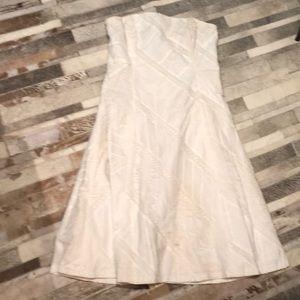 Cute white cotton and lace Shoshanna dress 8